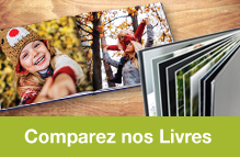 Comparatif Livres Photos